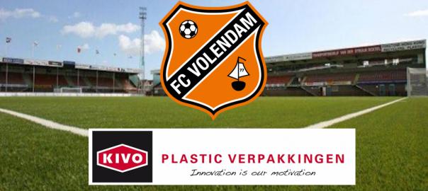 KIVO Plastic Verpakkingen sponsort FC Volendam