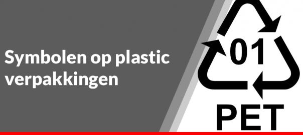 Symbolen op plastic verpakkingen