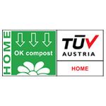 OK Compost HOME-keurmerk symbool