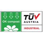 OK Compost-keurmerk symbool