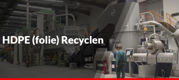 HDPE (folie) recyclen